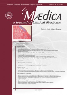 MÆDICA - a Journal of Clinical Medicine | Volume 7(10) No.1 2012