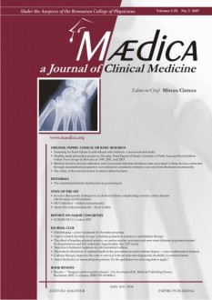 MÆDICA - a Journal of Clinical Medicine | Volume 2(5) No.3 2007