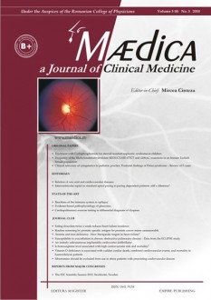 MÆDICA - a Journal of Clinical Medicine | Volume 5(8) No.3 2010