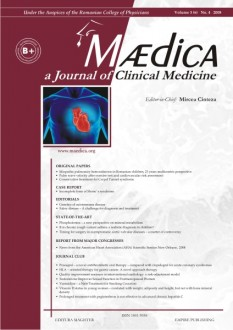 MÆDICA - a Journal of Clinical Medicine | Volume 3(6) No.4 2008