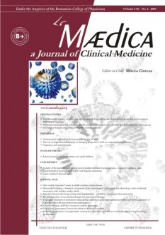 MÆDICA - a Journal of Clinical Medicine | Volume 4(7) No.4 2009