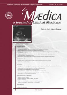 MÆDICA - a Journal of Clinical Medicine | Volume 6(9) No.4 2011