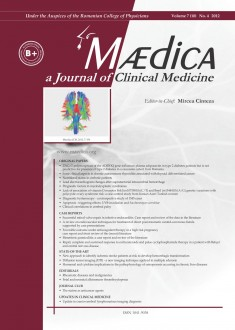 MÆDICA - a Journal of Clinical Medicine | Volume 7(10) No.4 2012