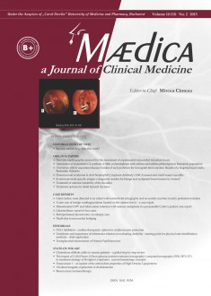 MÆDICA - a Journal of Clinical Medicine | Vol. 10, nr. 2, 2015