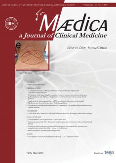 MÆDICA - a Journal of Clinical Medicine | Vol. 12, nr. 3, 2017