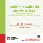 CONFERINTA NATIONALA ALZHEIMER 2018