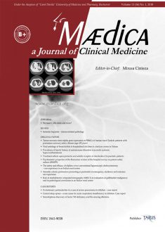 MÆDICA - a Journal of Clinical Medicine | Vol. 13, nr. 1, 2018