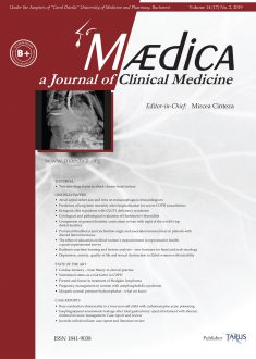 MÆDICA - a Journal of Clinical Medicine | Vol. 14, No. 2, 2019