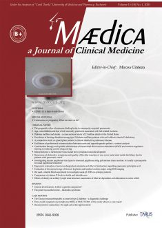 MÆDICA - a Journal of Clinical Medicine | Vol. 15, No. 1, 2020